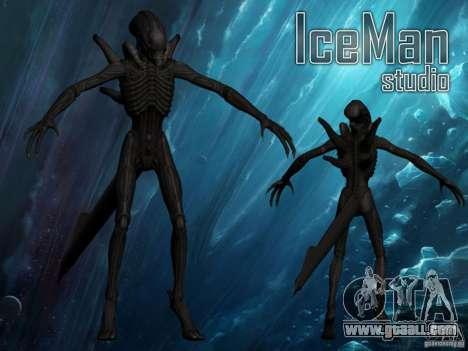 Alien Xenomorph for GTA San Andreas