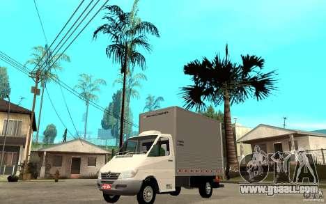 Mercedes-Benz Sprinter Truck for GTA San Andreas