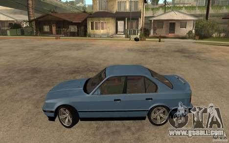 BMW E34 535i 1994 for GTA San Andreas left view