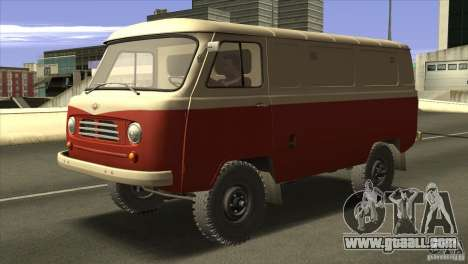 UAZ 450 for GTA San Andreas left view