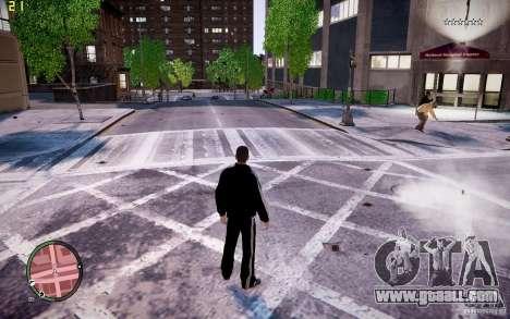 Adidas Suit for GTA 4 third screenshot