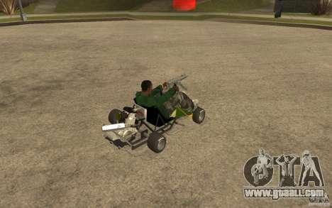 Hayabusa Kart for GTA San Andreas right view