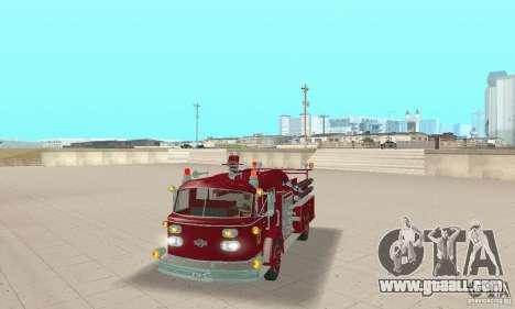 American LaFrance Pumper 1960 for GTA San Andreas