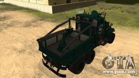 KrAZ 255 B1 Krazy-Crocodile for GTA San Andreas back view