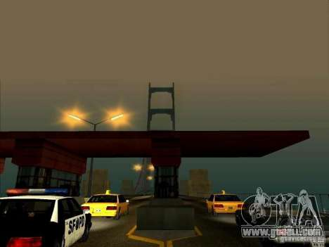 Bridge Pay for GTA San Andreas