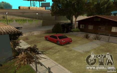 Sport cars near Grove Street for GTA San Andreas second screenshot