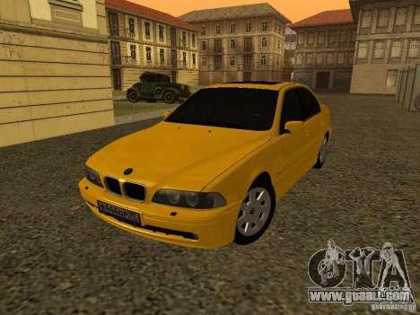 BMW 540i for GTA San Andreas