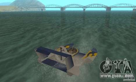 Hydrofoam for GTA San Andreas left view