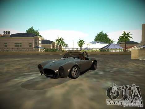 Shelby Cobra for GTA San Andreas