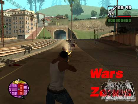 Wars Zones for GTA San Andreas