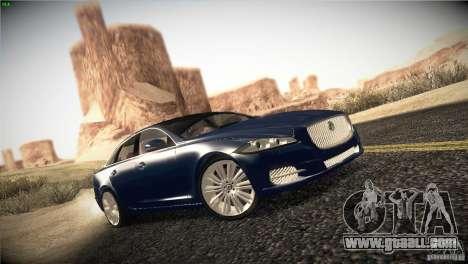 Jaguar XJ 2010 V1.0 for GTA San Andreas right view