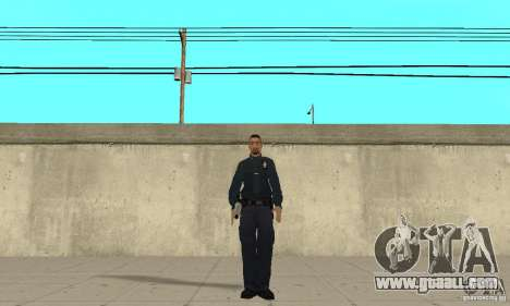 A police officer from GTA 4 for GTA San Andreas