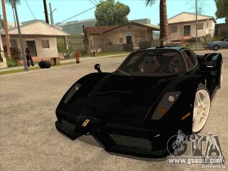 Ferrari Enzo 2010 for GTA San Andreas back view