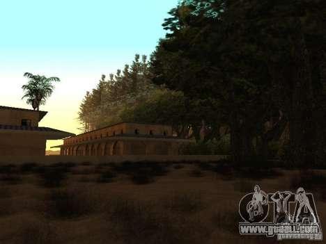 Forest in Las Venturas for GTA San Andreas sixth screenshot
