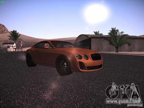 Bentley Continetal SS Dubai Gold Edition for GTA San Andreas left view