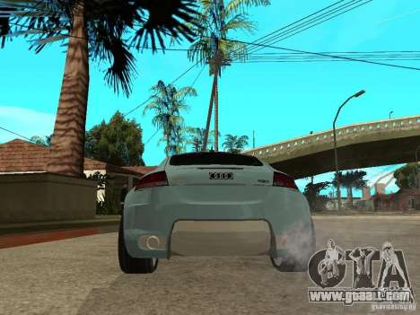 Audi TT 2007 Tuned for GTA San Andreas back left view