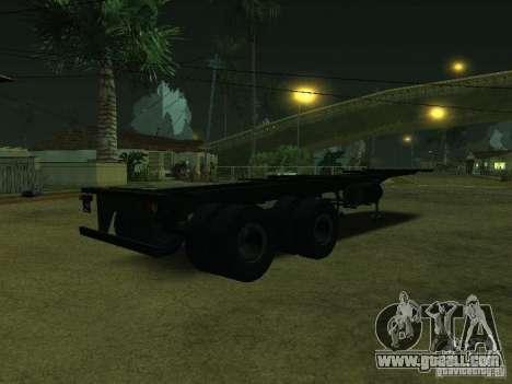 Container Carrier + Sovtransavto for GTA San Andreas back left view