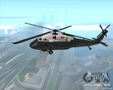 Sikorsky VH-60N Whitehawk for GTA San Andreas