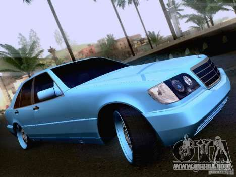 Mercedes-Benz S-Class W140 for GTA San Andreas