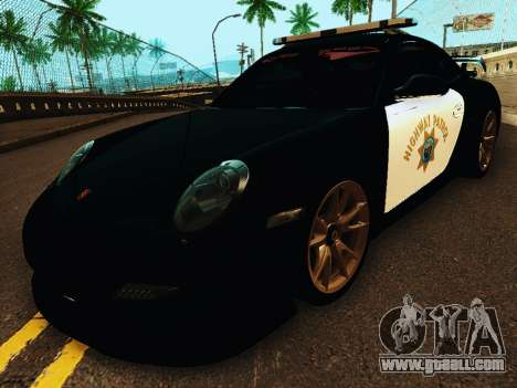 Porsche 911 GT2 RS (997) Police for GTA San Andreas