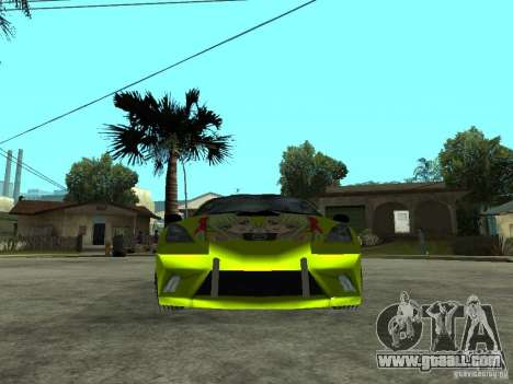 Toyota Celica for GTA San Andreas right view