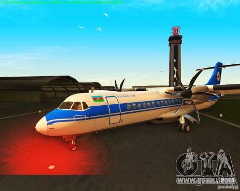 ATR 72-500 Azerbaijan Airlines for GTA San Andreas inner view