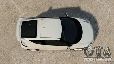 Honda Mugen CR-Z v1.1 for GTA 4 right view