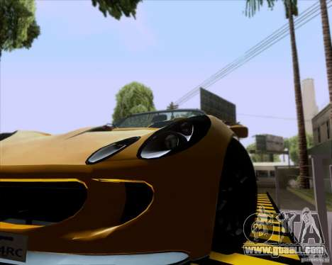 Lotus Exige for GTA San Andreas right view