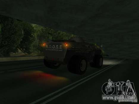 APC from GTA TBoGT IVF for GTA San Andreas back left view
