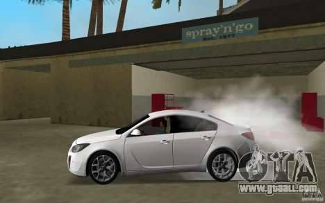 Opel Insignia for GTA Vice City left view