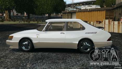 Saab 900 Coupe Turbo for GTA 4 left view
