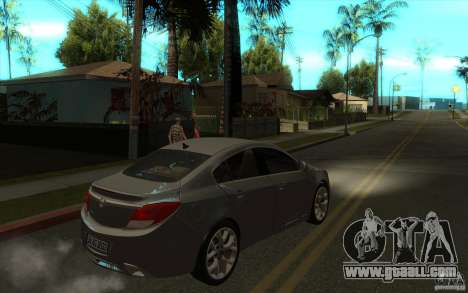 Opel Insignia 2011 for GTA San Andreas right view