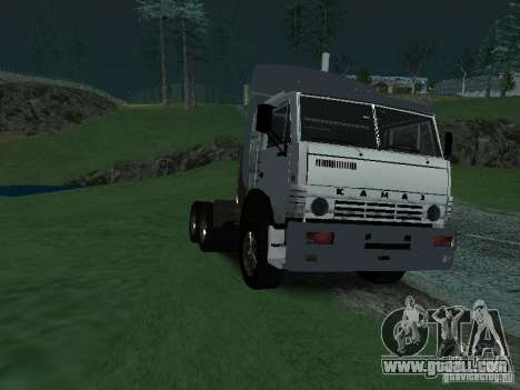 KAMAZ 5410 for GTA San Andreas inner view