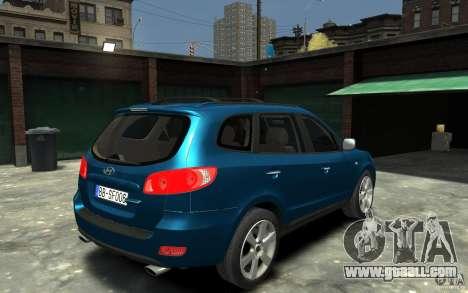 Hyundai Santa Fe for GTA 4 right view