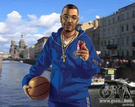 Boot screen Russia in America for GTA 4