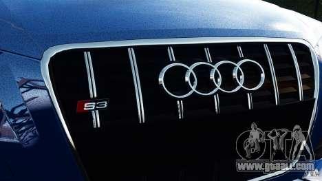 Audi S3 2010 v1.0 for GTA 4 back left view