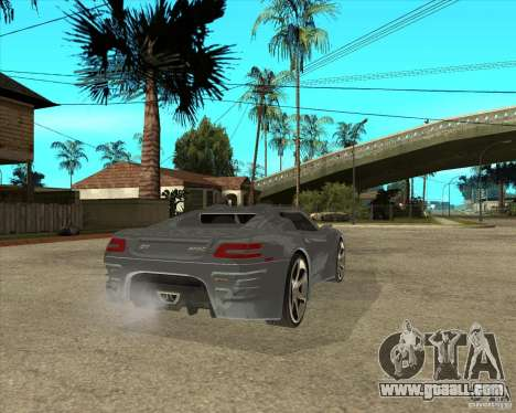 Theory Of Barss Grand Tourismo for GTA San Andreas back left view