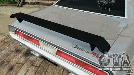 Dodge Challenger RT 1970 v2.0 for GTA 4
