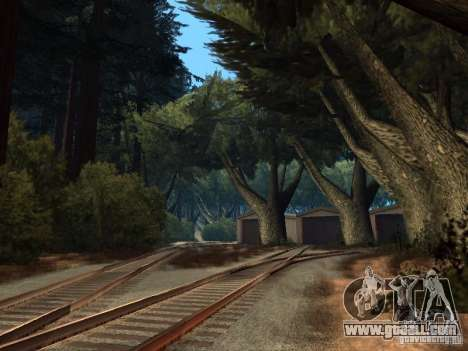 Forest in Las Venturas for GTA San Andreas ninth screenshot