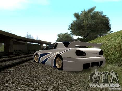 Vinyl with the BMW M3 GTR in Most Wanted for GTA San Andreas side view