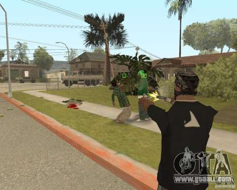 Mark and Execute for GTA San Andreas third screenshot
