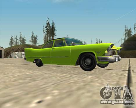 Plymouth Savoy 1957 for GTA San Andreas side view