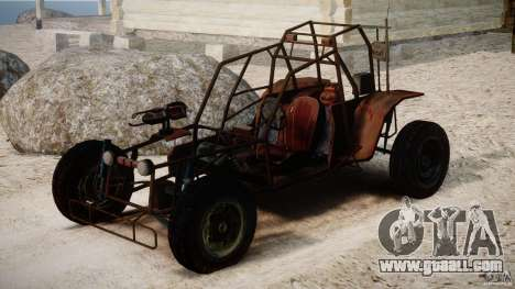 Half Life 2 buggy for GTA 4 right view