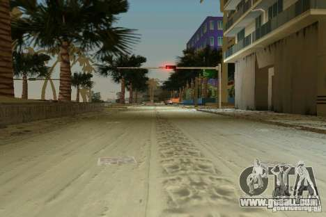 Snow Mod v2.0 for GTA Vice City forth screenshot