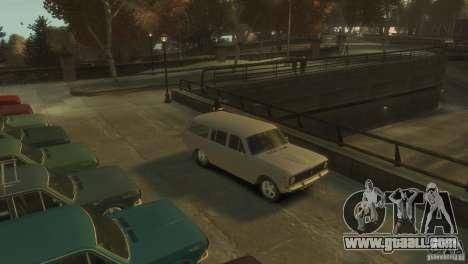 GAZ-24 Volga 02 for GTA 4 left view