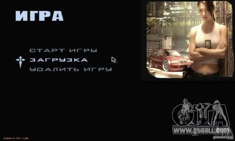 Most Wanted Menu for GTA San Andreas second screenshot