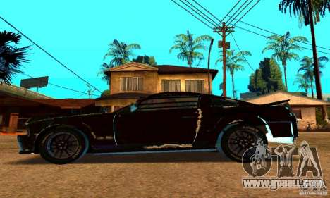 Ford Mustang Shelby GT500 From Death Race Script for GTA San Andreas left view