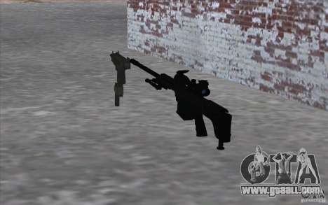 M98B for GTA San Andreas second screenshot