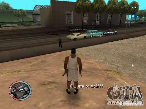 DRUNK MOD for GTA San Andreas second screenshot