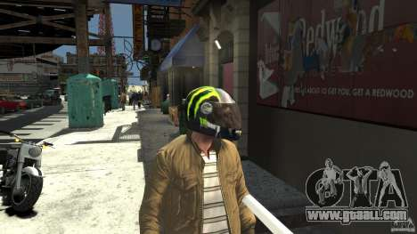 Energy Drink Helmets for GTA 4 forth screenshot
